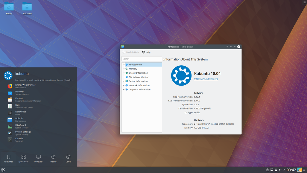 Kubuntu 18 04 has been released, featuring the beautiful KDE Plasma