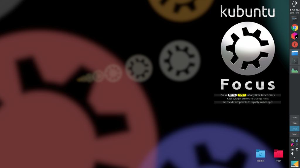 Focus laptop screenshot